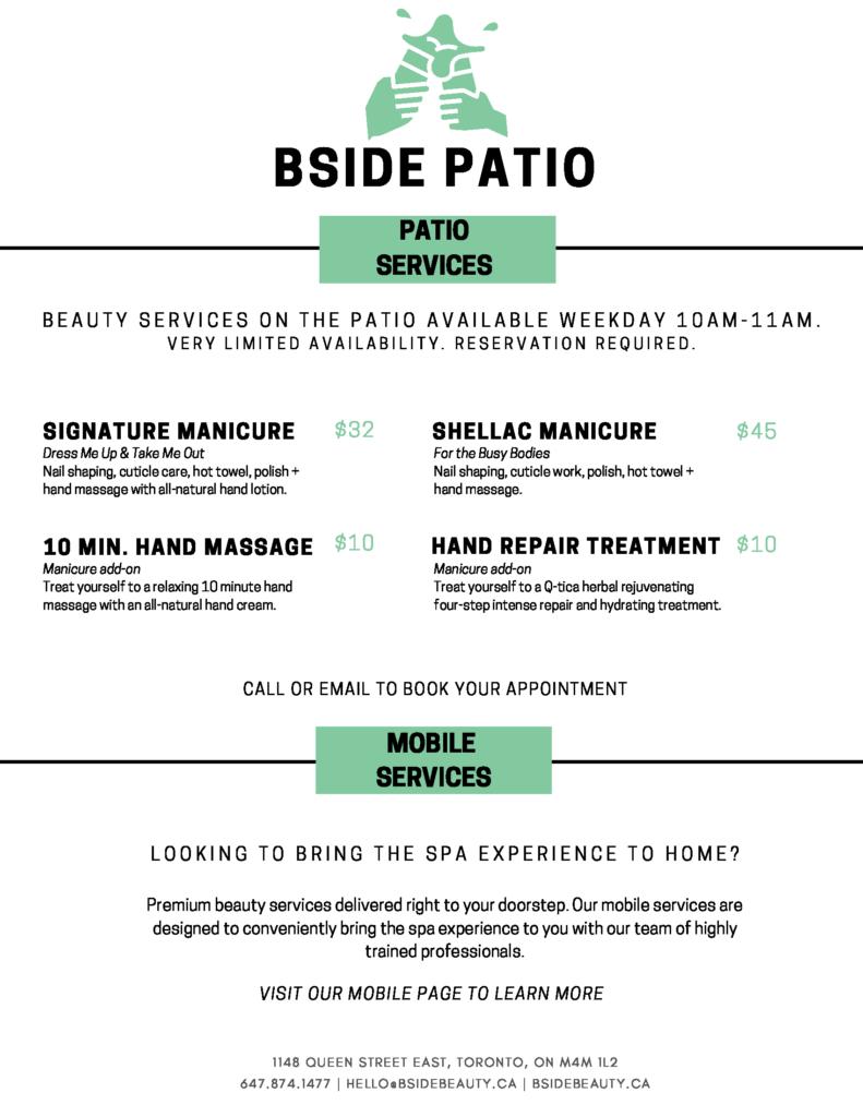 Patio Services